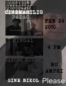 Cinemahilig presents Sine Bikol